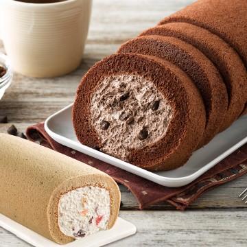 巧克力蛋糕,巧克力卷,紅茶,雪藏蛋糕